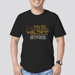 Bones IQ Men's Fitted T-Shirt (dark)